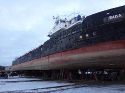 "Dock repair of m/v ""Lida"" completed"