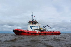 "Dock repair of the ""Antey"" sea tugboat completed"