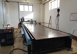 Launched production of automatic cutting of sheet metal
