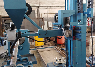 Propeller shafting installation launched
